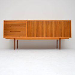 walnut retro vintage sideboard 1960s