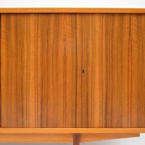 walnut retro vintage sideboard 1960s