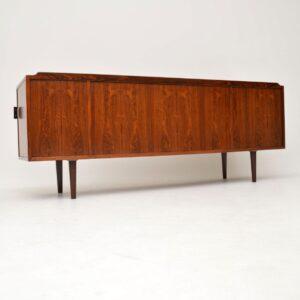 danish retro vintage rosewood sideboard arne vodder sibast