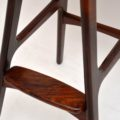 Danish Rosewood Vintage Bar Stool by Erik Buch