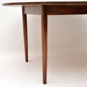 danish rosewood vintage retro dining table finn juhl