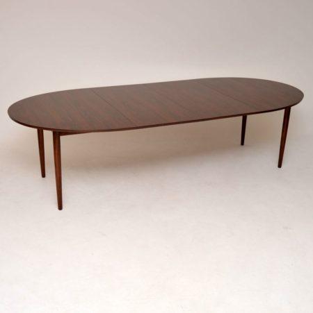 1960's Danish Rosewood Dining Table by Finn Juhl