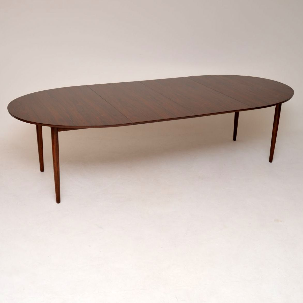 danish rosewood vintage retro dining table finn juhl