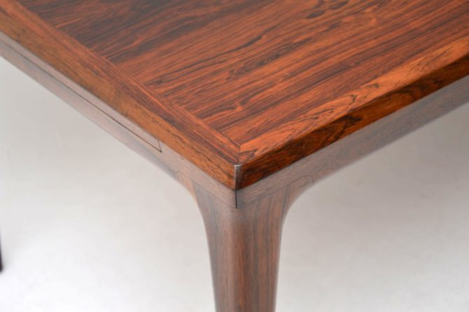 danish rosewood vintage retro coffee table johannes andersen
