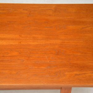 1960's Danish Teak Convertible Dining / Coffee Table