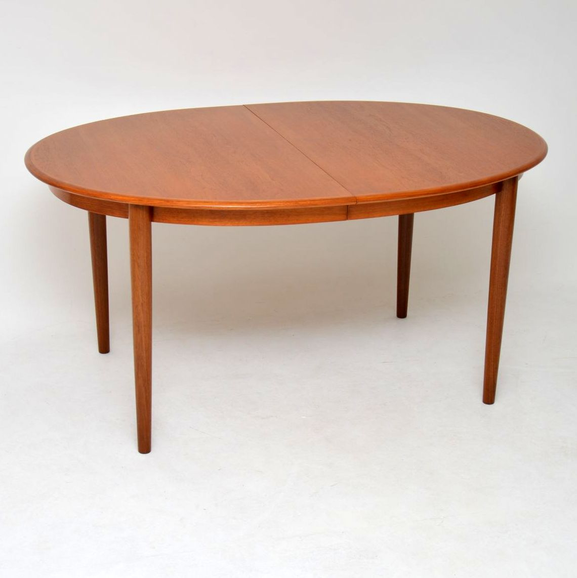 1960 S Vintage Danish Teak Extending Dining Table Retrospective