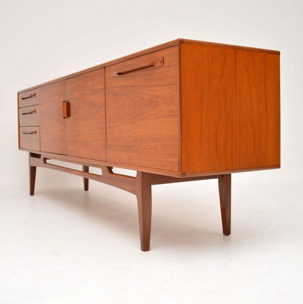 danish teak retro vintage sideboard mcintosh