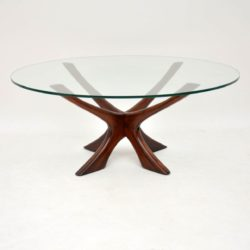 1960's Danish Rosewood Coffee Table by Illum Wikkelso
