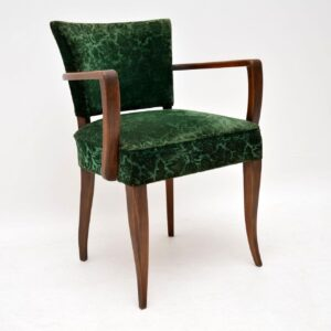 1920's Pair of French Art Deco Armchairs