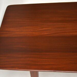 retro vintage afromosia teak rosewood dining table by younger