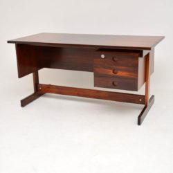 1960' Brazilian Rosewood 'Clara' Desk by Sergio Rodrigues
