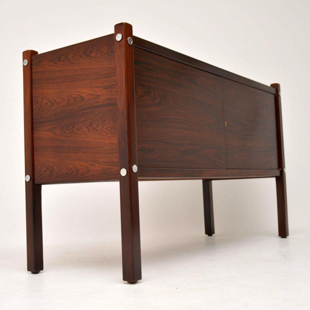 sergio rodrigues vintage retro rosewood luciana sideboard