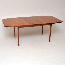 retro vintage danish teak dining table g plan