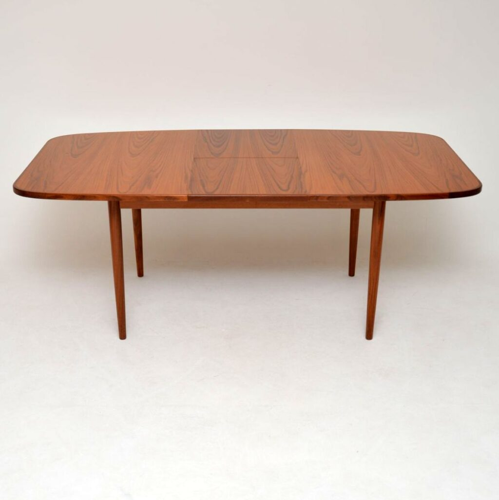 retro vintage danish teak dining table g plan