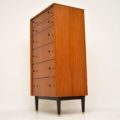 1960's Vintage Walnut Tallboy Chest of Drawers by G- Plan