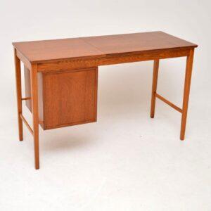 danish teak oak rosewood desk svend aage madsen vintage retro