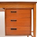 1960's Danish Teak Desk by Svend Aage Madsen