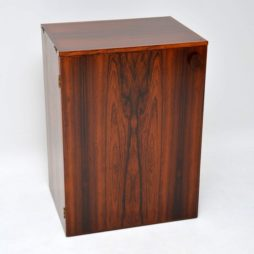danish rosewood drinks bar cabinet erik buch dyrlund