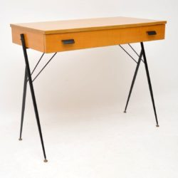 1960's Vintage Italian Desk / Writing Table