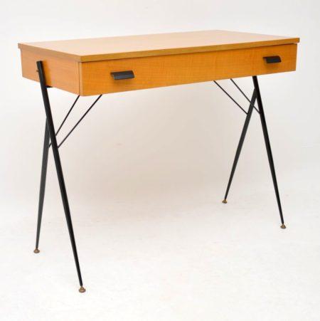 1960's Vintage Italian Desk / Writing Table