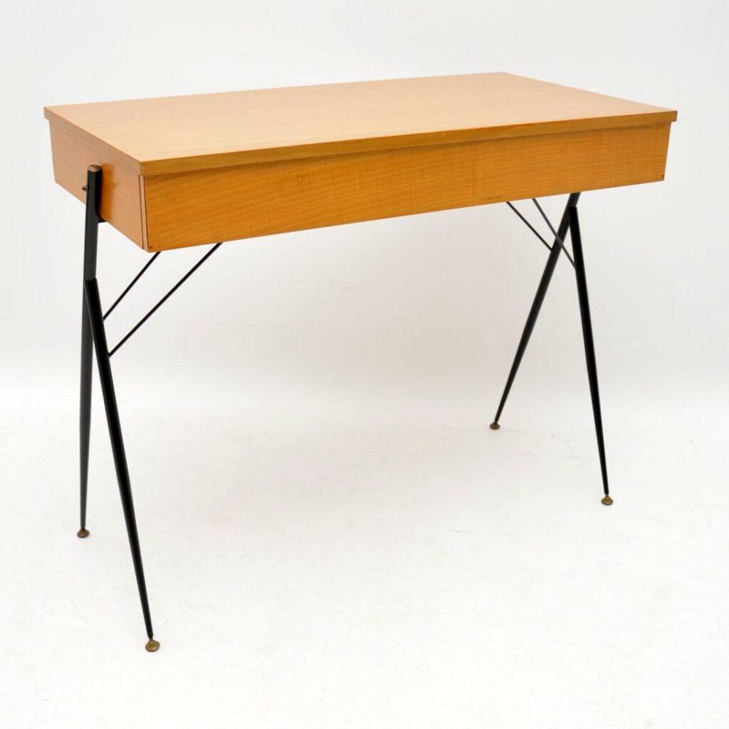 retro vintage italian desk writing table