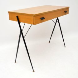 retro vintage italian desk writing table