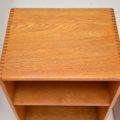 1950's Pair of Vintage Oak Bedside Cabinets