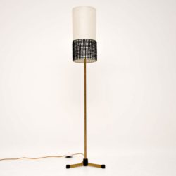 retro vintage brass floor lamp