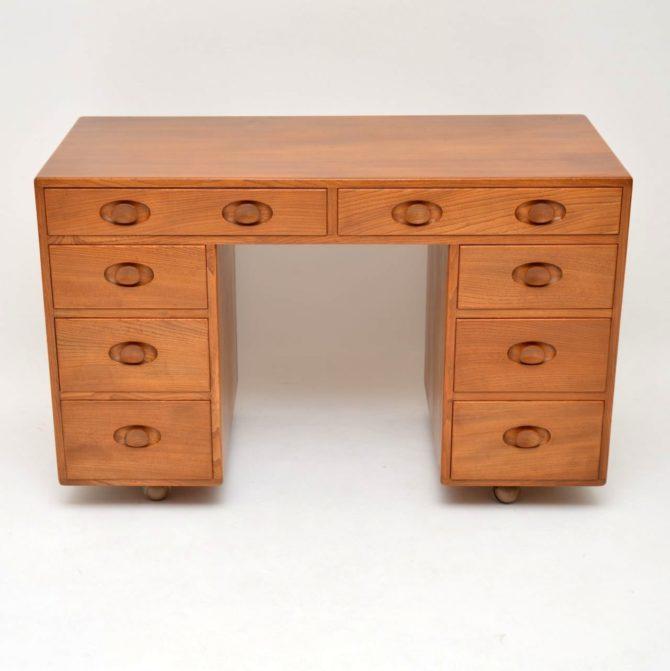 retro vintage ercol desk
