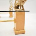 retro_vintage_french_brass_glass_maple_coffee_table_11