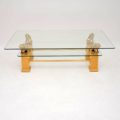 retro_vintage_french_brass_glass_maple_coffee_table_3