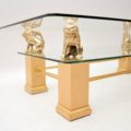 retro_vintage_french_brass_glass_maple_coffee_table_5