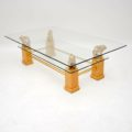 retro_vintage_french_brass_glass_maple_coffee_table_8