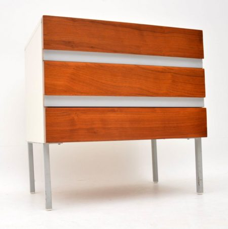 1960's Vintage Walnut Opus Chest of Drawers by Stag