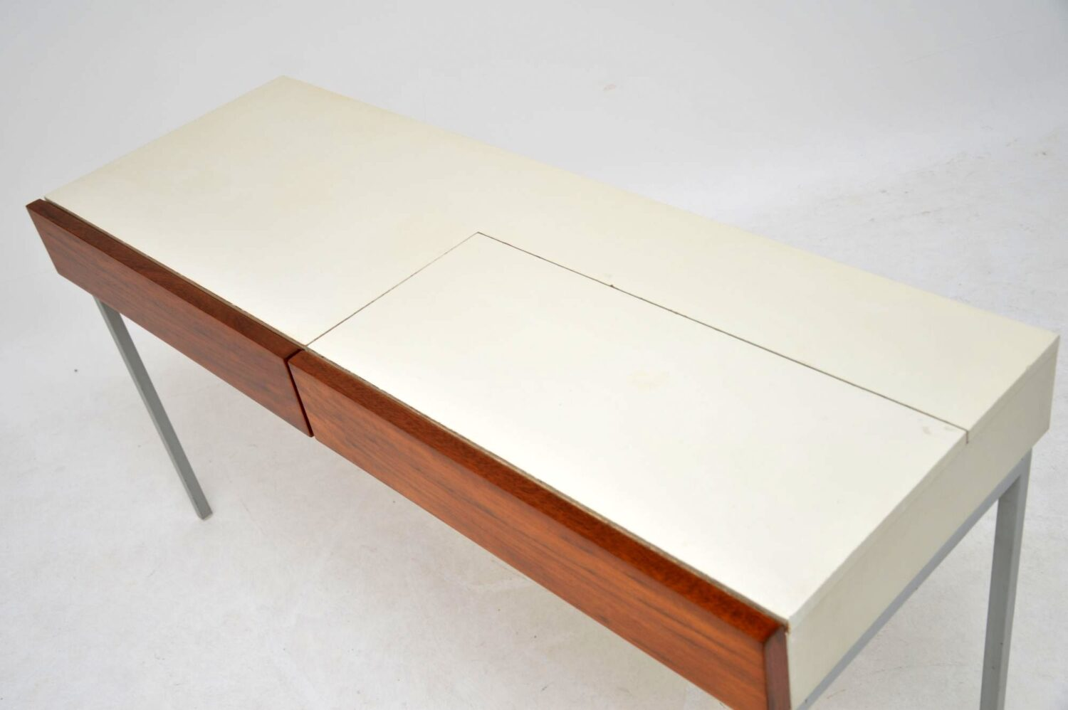 retro vintage walnut dressing table by stag opus