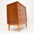 1950's Vintage Walnut Chest of Drawers by Alfred Cox