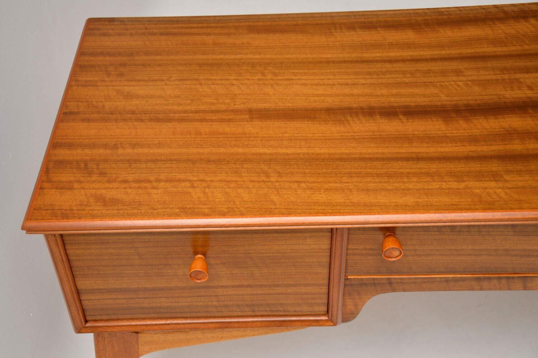 vintage retro walnut desk alfred cox