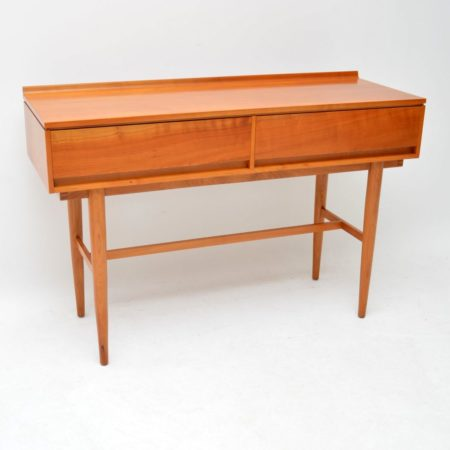 1960's Vintage Satin Wood Side Table by Beresford & Hicks