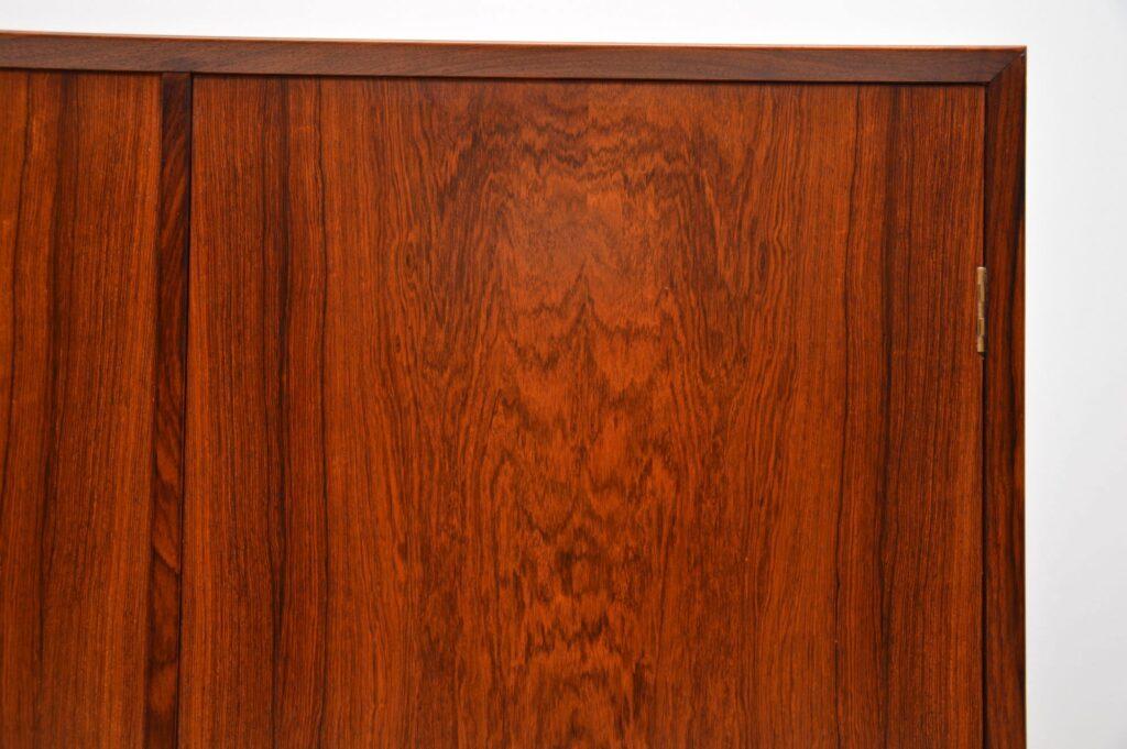 danish rosewood retro vintage cabinet borge mogensen