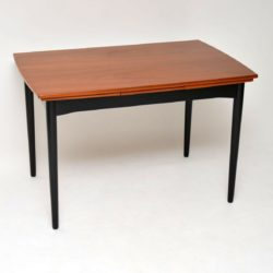 1960's Danish Teak Vintage Extending Dining Table