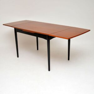 danish teak retro vintage dining table