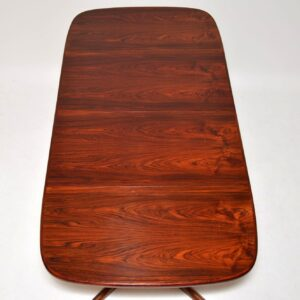 danish rosewood vintage retro dining table