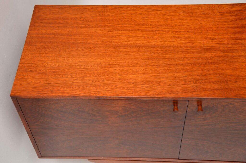 danish rosewood sideboard kofod larsen seffle vintage retro
