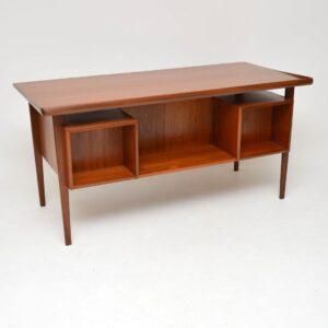 1960's Danish Teak Desk by Peter Lovig Nielsen for Dansk Design