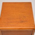 1920's Pair of Art Deco Oak Bedside Cabinets