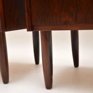 1960's Pair of Danish Rosewood Chest of Drawers