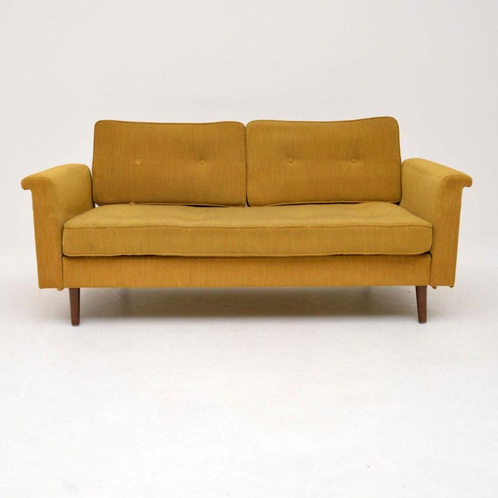 retro vintage sofa bed