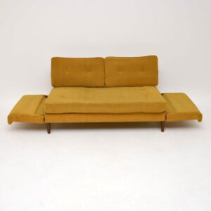 1950's Vintage Sofa Bed for Re-Upholstery