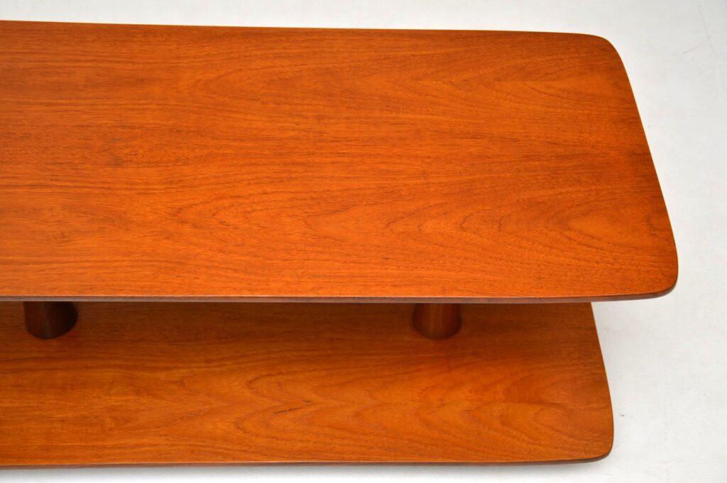 danish teak retro vintage coffee table
