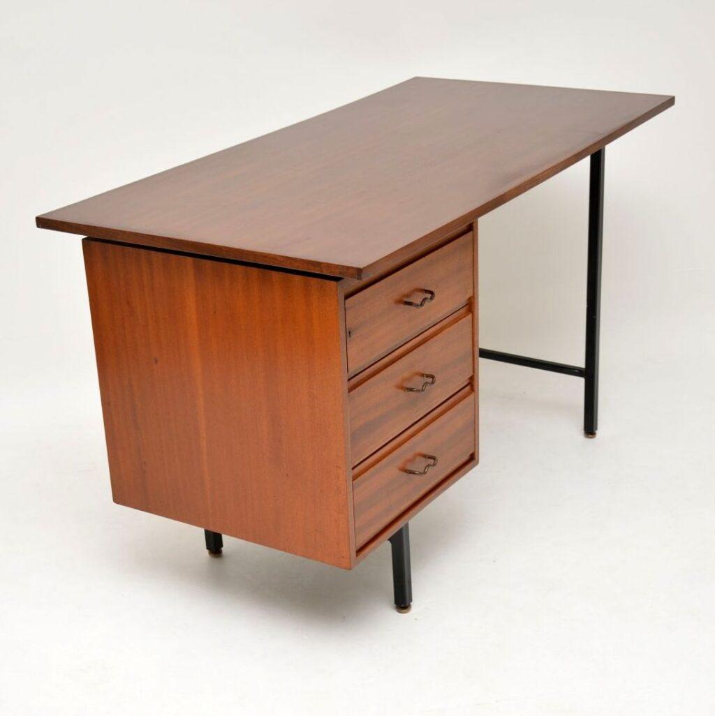 retro vintage mahogany desk